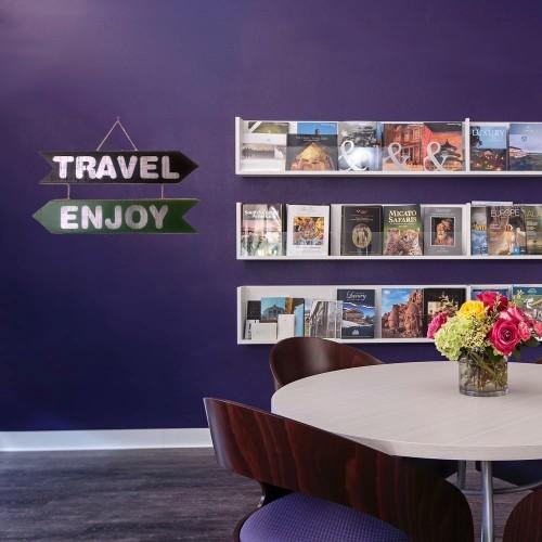 El Yapımı Ahşap Yön Oku Duvar Süsü Travel Enjoy