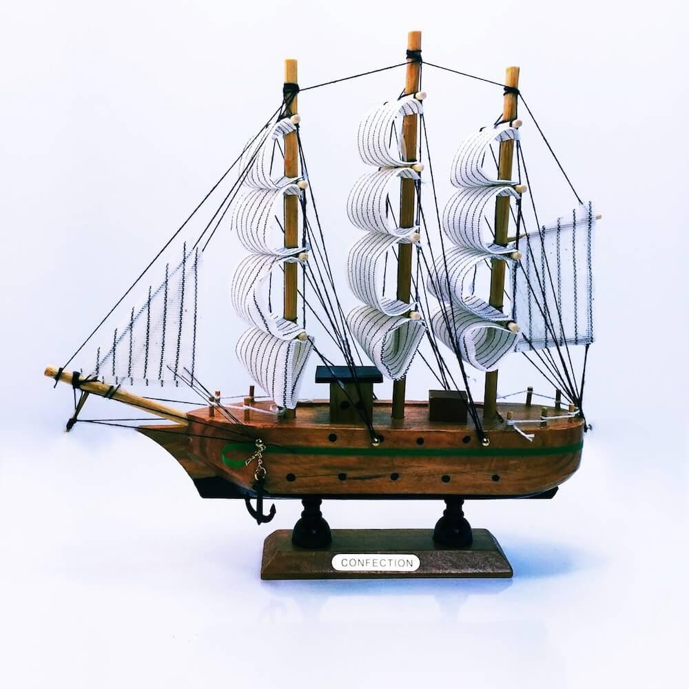 Ahşap Gemi Büyük Boy