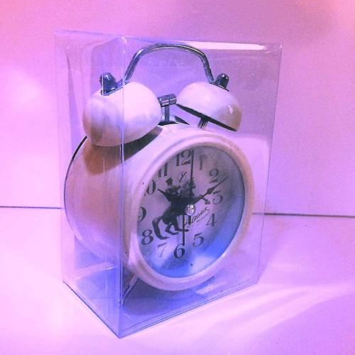 Atatürk Resimli İmzalı Kurmalı Nostaljik Çalar Saat