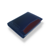 Gold Life Premium Deri Kartlık Kartvizitlik Lacivert