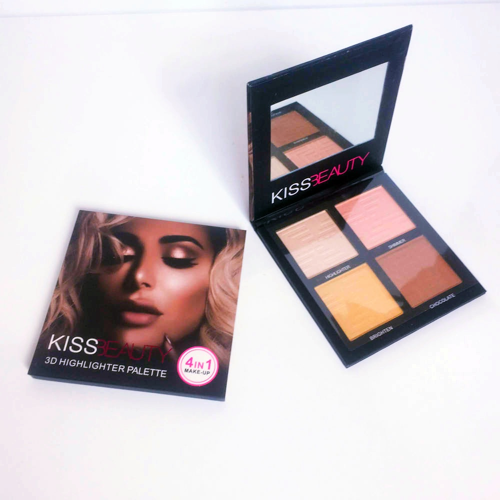 Kiss Beauty 3D Highlighter Aydınlatıcı Palet