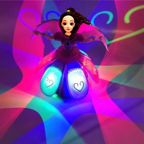 Dans Eden Dönen Işıklı Bebek Müzik Kutusu