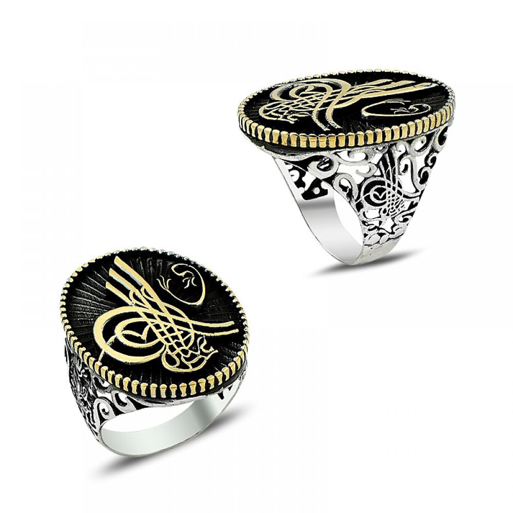 Osmanlı Mührü Erkek Gümüş Yüzük
